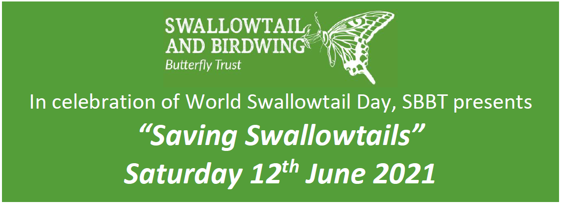 Saving Swallowtails Conference: 12 June 2021